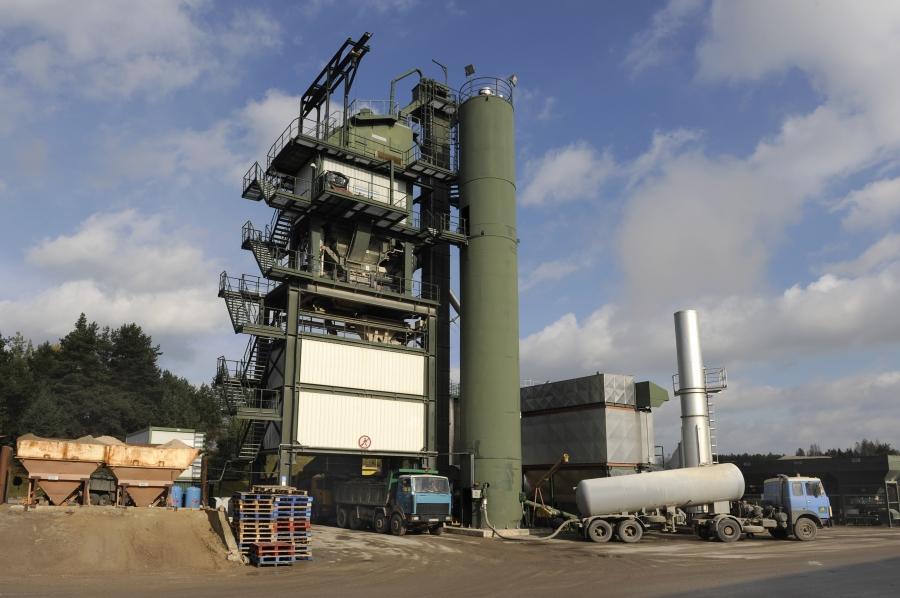 Production of asphalt and concrete mixtures 1