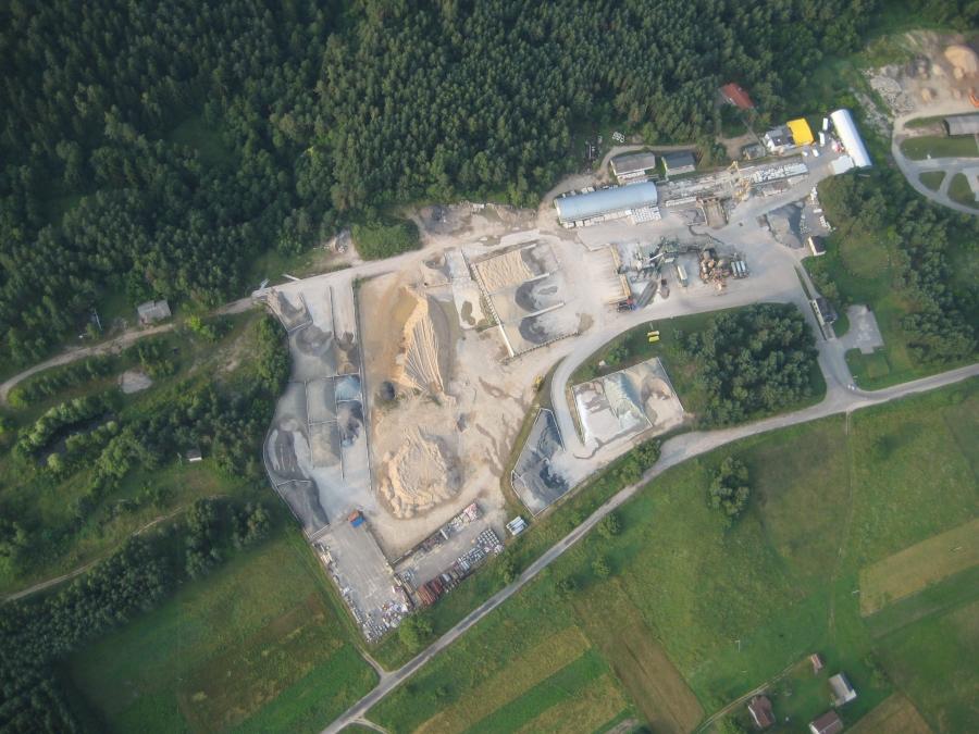 Production of asphalt and concrete mixtures 4