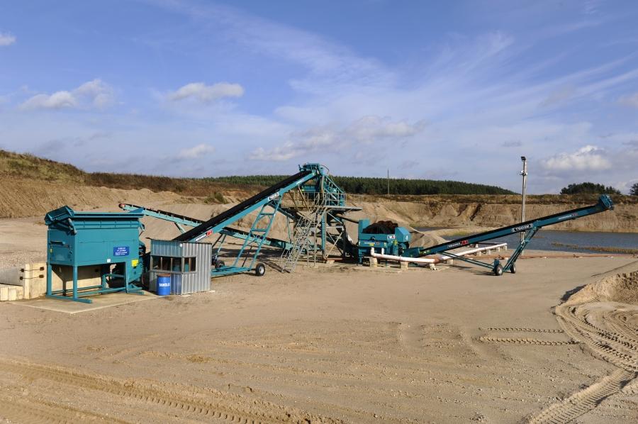 Production of asphalt and concrete mixtures 3