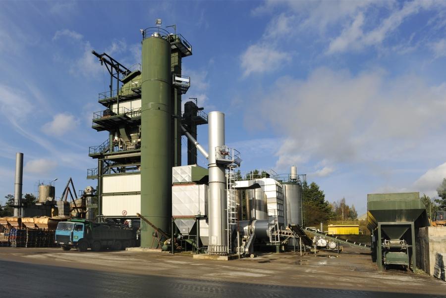 Production of asphalt and concrete mixtures 5