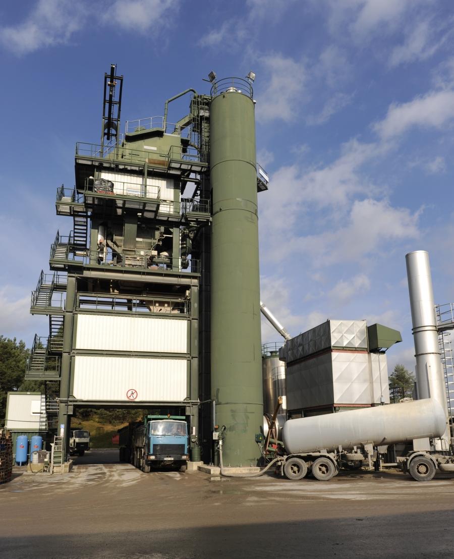 Production of asphalt and concrete mixtures 2