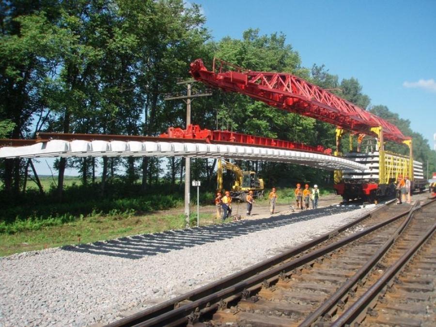 Repair of railway lines 1