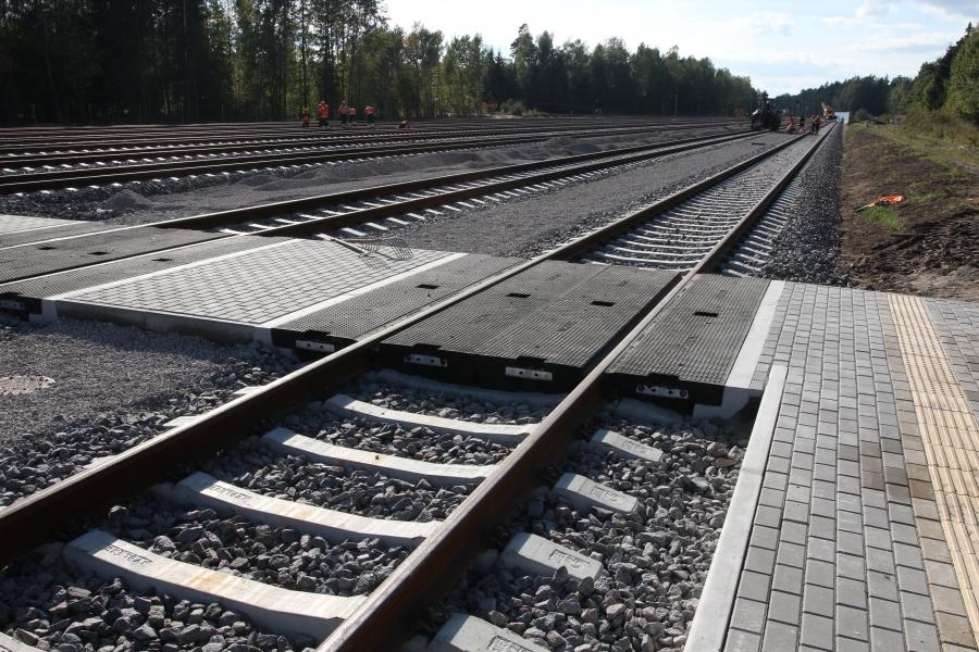Repair of railway lines 14